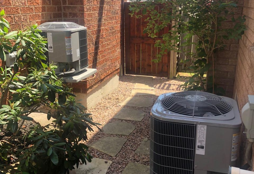 Double AC install